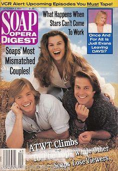 Soap Opera Digest Magazine October 2 1990 Terry Lester Jon Hensley | eBay