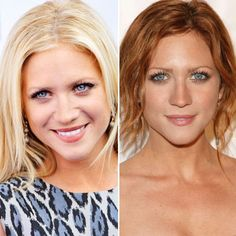 Brittany Snow went from all-American blonde to fiery red. Get your own custom blended, flattering haircolor to cover gray hair at home here: http://www.haircolorforwomen.com/breakthrough-hair-color-system-your-salon-doesnt-want-you-to-know-about-p/