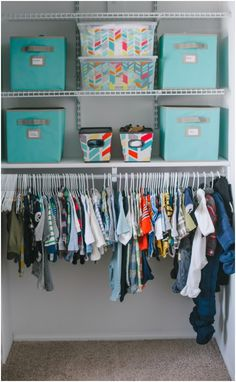 #nursery #closet #organization via @Target themccarthydays.com our family blog