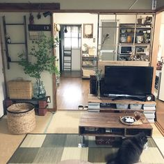 Home Interior Design, Interior Architecture, Japanese Modern House, Japanese Apartment, Tatami Room, Room Wanted, Minimalist Room, Beauty Room, Apartment Interior