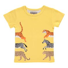 t-shirt-stretch-animaux-tyler-yellow