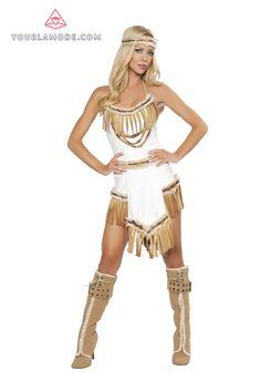 Buy Indian Huntress Costume| Native Halloween Costume, Cherokee Costume, Indian Girl Costume, Native American Indian Costume