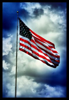 "Our Flag represents many different things.  It is the symbol of freedom and has seen many lay down their life in preservation there of.  It deserves the utmost respect from anyone who claims America as home.  It is a reminder to those that threaten our soils, that we are a nation founded on war. ""This We'll Defend"""