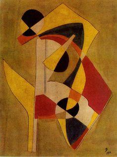 Guillaume Vanden Borre, 1954 Technique mixte sur papier, 30,8x24,3 cm Posté par charp à 14:08 - Tableaux - Commentaires [0] - Permalien [#]