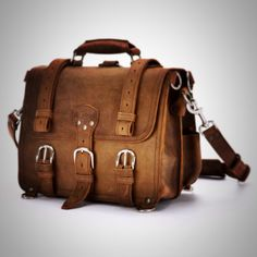 The design that started it all | Saddleback Leather Medium Classic Briefcase in Tobacco | 100 Year Warranty | $568.00