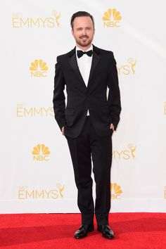 Pin for Later: 25 of the Hottest Aaron Paul Pictures Out There When He Looked Insanely Dapper on the Red Carpet