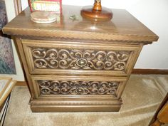 Found on EstateSales.NET: Nightstand (two available)