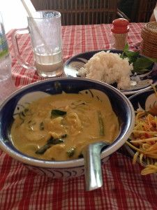 If you can only try one dish in Cambodia, you've gotta try Fish Amok! It is the national dish and it's pretty damn tasty.