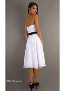 Strapless Sash/Ribbon/Belt 2014 Bridesmaid Dresses