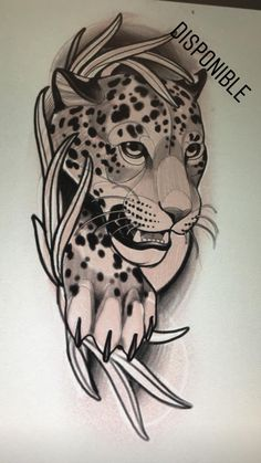 Discover recipes, home ideas, style inspiration and other ideas to try. Small Crown Tattoo, Cool Small Tattoos, Jaguar Tattoo, Tiger Tattoo, Leopard Tattoos, Animal Tattoos, Neo Tattoo, Tattoo Drawings, Full Arm Tattoos