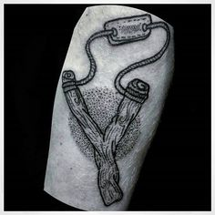 8 Troublesome Slingshot Tattoos | Tattoodo