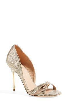 Kurt Geiger London 'Beverley' Glitter Sandal (Women) available at #Nordstrom