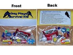 Hockey Player Survival Kit Gift: How to Make a Fun Hockey-Themed Survival Kit