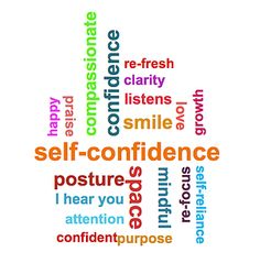 Confidence leaks out ... in words. #confidence #coaching Maria Varallo confidence coach Cambridge