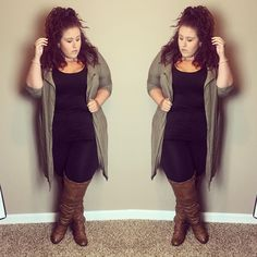 Plus Blogger Curves, Curls and Clothes