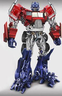 Optimus Prime... Revamp (fan art), via Flickr. I like this better than the movie version.