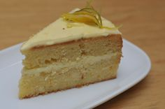 Classic lime, lemon & ginger cake with citrus frosting - unbeatable!