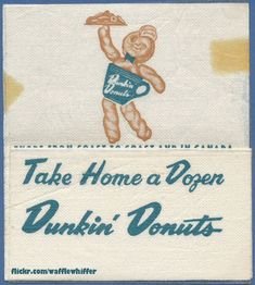 vintage dunkin donuts employee training manual time to make the rh pinterest com Dunkin' Donuts Logo Dunkin' Donuts Training Program Website