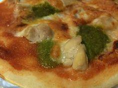 おからパウダーで即席ピザ生地の画像