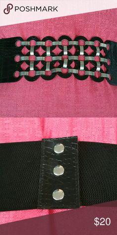 Mod Belt Mod Stretch Belt with Velcro Closure Accessories Belts