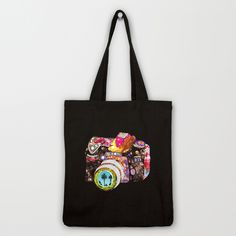 95c8e08166f5b Bottles Black and White on White Tote Bag by Project M