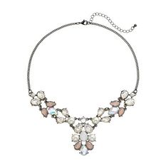 Candie's® Bib Necklace REAL
