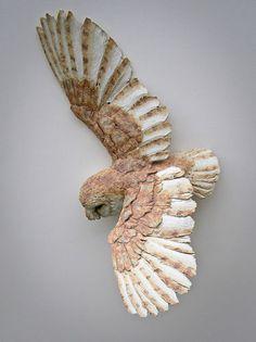 Barn Owl in Flight Simon Griffiths