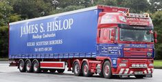 https://flic.kr/p/MA6mLX | DAF 105XF Stgo Cat 2 6x2 James Hislop Curtain Box Kelso Scotland  Frank Hilton IMG_8903
