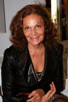 A Femme d'Un Certain Age: Famous Faces. . .diane von furstenberg