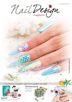 I am on the cover from Nail Design Magazine! So proud!  www.glitterheaveneurope.nl www.nagelstudiopink.nl  #glitterheaven #veralangeslag #nagelstudiopink #nails #arnhem #sparkle #nailart #glitter #crystalnails #royalgel #crystalac #naildesignmagazine