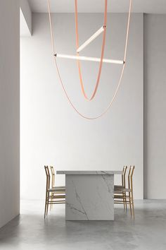 Wireline by Formafontasma for FLOS. Hall 24, Stand C01, C21, E02, E20 at Salone del Mobile.