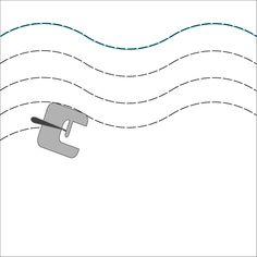 Avant de commencer à piquer à la machine il faut s'entraîner à piquer droit, soit avec des repères tracés à la craie tailleur ou un crayon soit avec le bord du tissu ou les repères sur la plaque à …