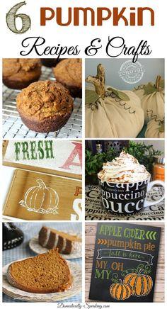 6 Pumpkin Recipes and Crafts