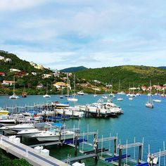Our place in #sintmaarten overlooks this gorgeous #marina. Our first day was beautiful and sunny -- no sunburn on this Irish/Norwegian skin #success #sunscreen #spf50  I'm even surviving with only 10 minutes of internet service a day. #digitaldetox by jenganson