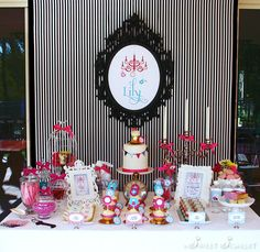 """Photo 1 of 25: Alice in Wonderland, Mad Tea Party / Birthday """"Alice in Wonderland 7th Birthday Party"""" 