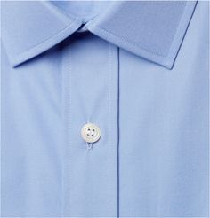 Charvet - Blue Cotton Shirt