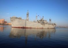 May 20, 2016 – The all-volunteer crew of the World War II Liberty Ship, S.S. John W. Brown, sailed the 73-year-old warship into Norfolk, Virginia for the Maritime Day celebration, May 20-22. The S.S. John W. Brown is one of two fully operational World War II Liberty ships left in existence and is now a living museum dedicated to honoring those who built, defended and sailed the Liberty fleet.