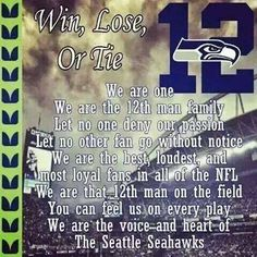Seattle Seahawks - 12th Man