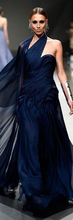 my next wedding dress. Blue Fashion, High Fashion, Couture Fashion, Runway Fashion, Couture 2015, Pretty Dresses, Blue Dresses, Julien Fournié, Glamour