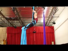 Double Fallen Angel (aka 360 Drop) Aerial Silk Tutorial - with Aerial Physique - YouTube