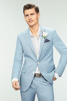 Shop our best value Light Blue Tuxedos on AliExpress. Check out more Light Blue Tuxedos items in Men's Clothing, Women's Clothing, Weddings & Events, Apparel Accessories! And don't miss out on limited deals on Light Blue Tuxedos! Blue Groomsmen Suits, Blue Tuxedos, Bridesmaids And Groomsmen, Wedding Men, Wedding Suits, Light Blue Suit Wedding, Wedding Blue, Wedding Dresses, Summer Wedding