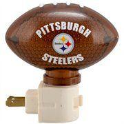 Pittsburgh Steelers Football Nightlight #FanaticsWishList