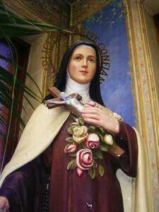 Saint Therese of Lisieux. Sainte Therese De Lisieux, Ste Therese, Catholic Art, Catholic Saints, Religious Images, Religious Art, Saint Costume, St Pio Of Pietrelcina, La Salette