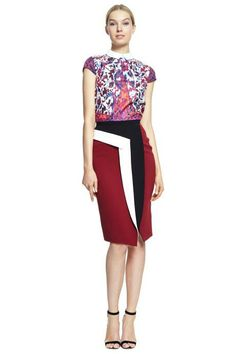 Peter Pilotto Pre-Fall 2014 Trunkshow Look 12 on Moda Operandi
