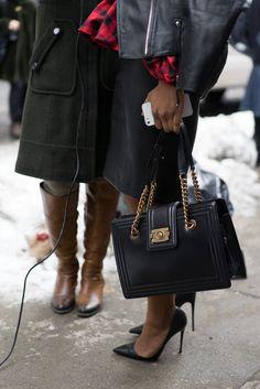 #Chanel Boy Bag Tote