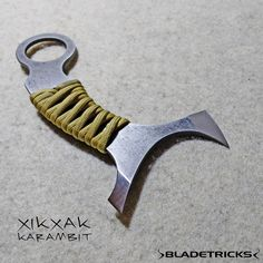 The Xikxak is an extremelly fast karambit allowing some unique movements in a CQC situation. #edc #selfdefense #karambit