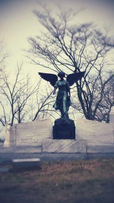 Stone angel.