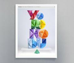 Yorokobu // Diseño de portada by Versátil , via Behance