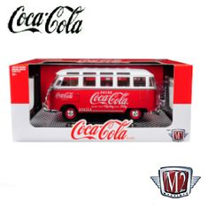 1960 Volkswagen Microbus Deluxe U. Model 'Coca-Cola' Red with White Top 705833671273 Toy Model Cars, Diecast Model Cars, Nascar Winner, 1965 Pontiac Gto, Benz A Class, Dodge Charger Daytona, Vintage Coke, Lifted Cars, Ford Galaxie