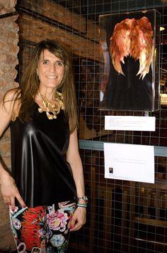 ANANDA - Art show - San Telmo, Buenos Aires - #collage #art #photography #pictures #almafenix #alas by @veromartinezcastro - 2015